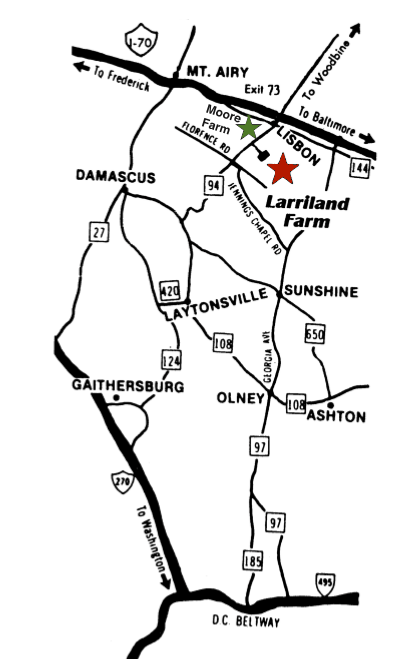 Howard County Md Zip Code Map.Larriland Farm Pick Your Own Fruits And Vegetables At Our Family